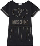 Moschino Milano jersey dress with sequins