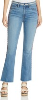 Tory Burch Amy Embroidered Skinny Flared Jeans
