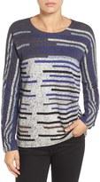 Nic+Zoe Women's Broken Stripes Top