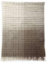 Brunello Cucinelli Checked Alpaca & Wool Blend Blanket