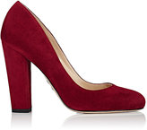 Paul Andrew Women's Bursa Suede Pumps-RED