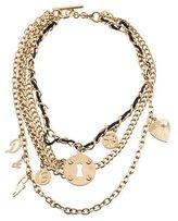 Dolce & Gabbana Multistrand Chain Necklace