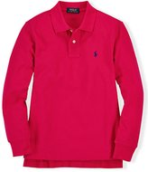 Ralph Lauren Boys' Long Sleeved Polo Shirt (4/, )