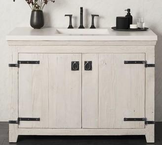 "Pottery Barn Siana 48"" Handcrafted Single Sink Vanity"