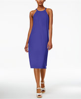 Bar III Faux-Wrap Shift Dress, Only at Macy's