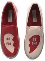 Stella McCartney Leo Best Friend Slip-On Sneakers Girl's Shoes