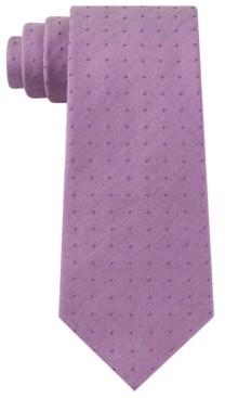 Kenneth Cole Reaction Men's Hazy Classic Dot Tie
