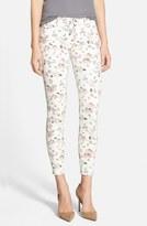 Hudson 'Nico' Print Ankle Skinny Jeans