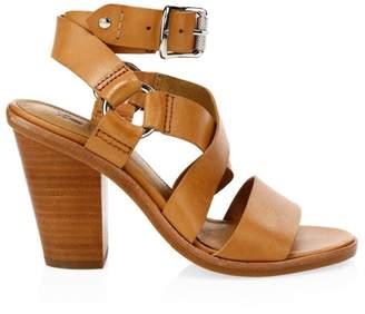 Frye Sara Leather Harness Sandals