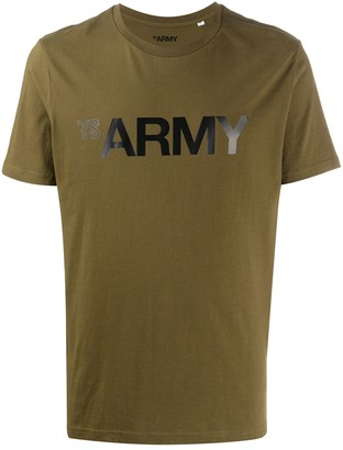 Yves Salomon Army logo T-shirt