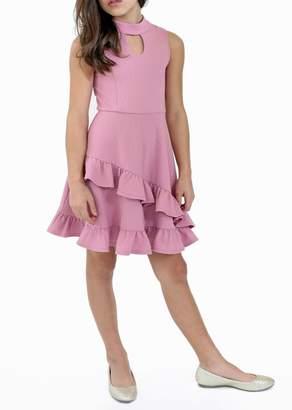 Blush by Us Angels Sleeveless Ruffled Dress (Big Girls)
