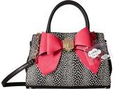 Betsey Johnson Removable Bow Satchel Satchel Handbags