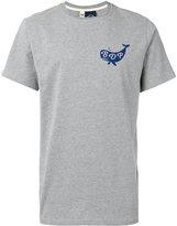 Bleu De Paname - whale print T-shirt - men - Cotton - S