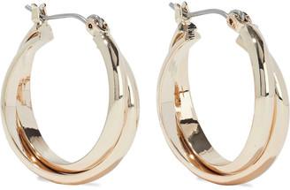 Shashi Vera 18-karat Gold-plated Hoop Earrings