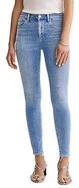 AGOLDE Sophie Ankle Skinny Jeans in Saltwater