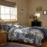 Clarissa Hulse Indigo Patchwork Duvet Cover - King