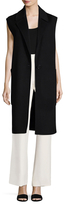Helmut Lang Wool Notch Lapel Vest