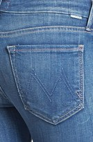Mother 'The Looker' Crop Skinny Jeans (Peppermint Kisses)