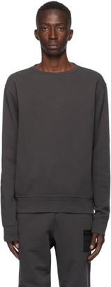 Maison Margiela Grey Elbow Patch Crewneck Sweatshirt
