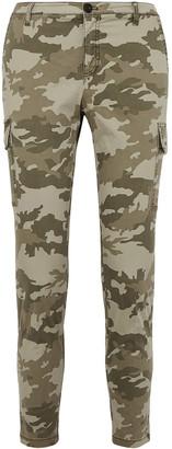 ATM Anthony Thomas Melillo Camouflage-print Cotton-blend Slim-leg Pants