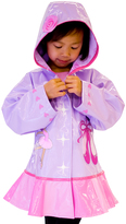 Kidorable Orchid & Pink Ballerina Raincoat - Infant Toddler & Girls