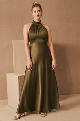BHLDN Cortland Dress By in Green Size 14