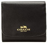 Coach Crossgrain Leather Small Wallet 53768