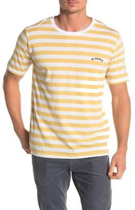 Barney Cools B.Nostalgic Stripe Print T-Shirt