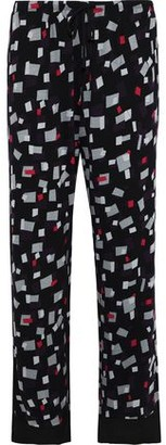 DKNY Printed Stretch-jersey Pajama Pants