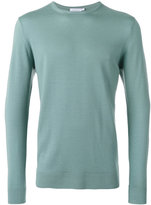 Sunspel crew neck jumper - men - Merino - M