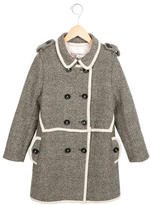3.1 Phillip Lim Girls' Double-Breasted Long Coat
