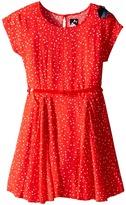 Ikks Dress with Star Print (Toddler/Little Kids/Big Kids)