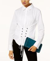 INC International Concepts Corset Shirt, Created for Macy's