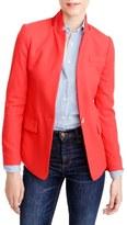 J.Crew Petite Women's Regent Stand Collar Blazer