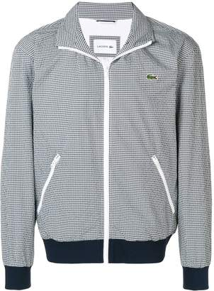 Lacoste checked jacket