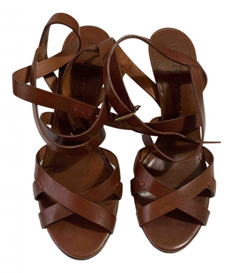 Burberry Brown Leather Heels