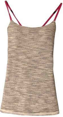 Lululemon Grey Cotton Tops