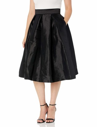 Ronni Nicole Women's Solid Party Skirt