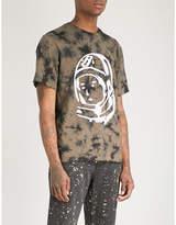 Billionaire Boys Club Bleached logo-print cotton-jersey T-shirt