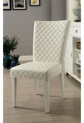 Orren Ellis Karg Contemporary Upholstered Dining Chair Shopstyle