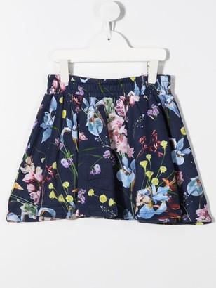 Molo Kids Floral Print Skirt