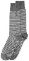 Calvin Klein Men's Fine Striped Socks