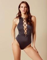 Agent Provocateur Amerie Swimsuit Grey