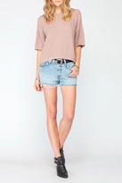 Gentle Fawn Blush Soft Knit Top