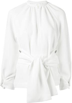 Eudon Choi Kamila tie waist blouse