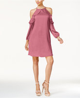 Thalia Sodi Cold-Shoulder Halter Dress, Created for Macy's