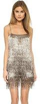 Rachel Zoe Women's Della Metallic Mini Dress