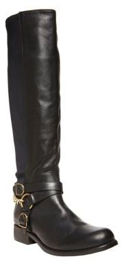 Betsey Johnson Bikerr Leather Boots