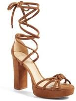 Alexandre Birman Women's Janelle Ankle Tie Platform Sandal
