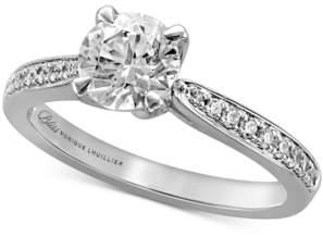 Monique Lhuillier Bliss Diamond Engagement Ring (1-1/4 ct. t.w.) in 14k White Gold